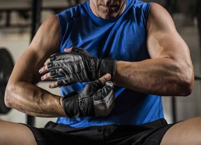 BioForm® WristWrap Glove increased wrist stability