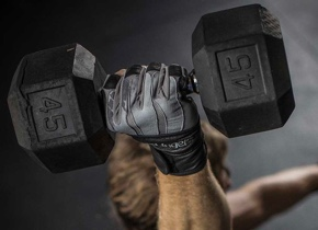 BioForm® WristWrap Glove weightlifting