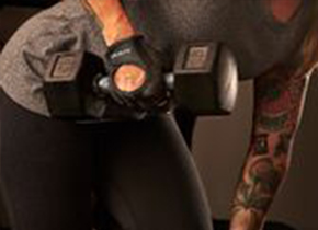 Women's Power Glove weightlifting