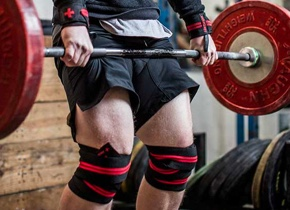 Red Line Knee Wraps Weightlifting