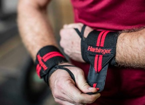 Red Line Wrist Wraps powerlifting